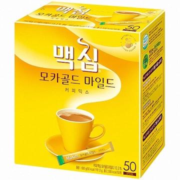 동서식품 맥심 모카골드 마일드 커피믹스 스틱 50T (1개)