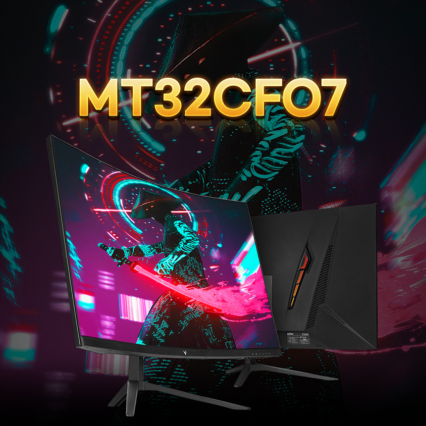 엠텍코리아 MT32CF07 1500R CURVED real 75 게이밍 무결점