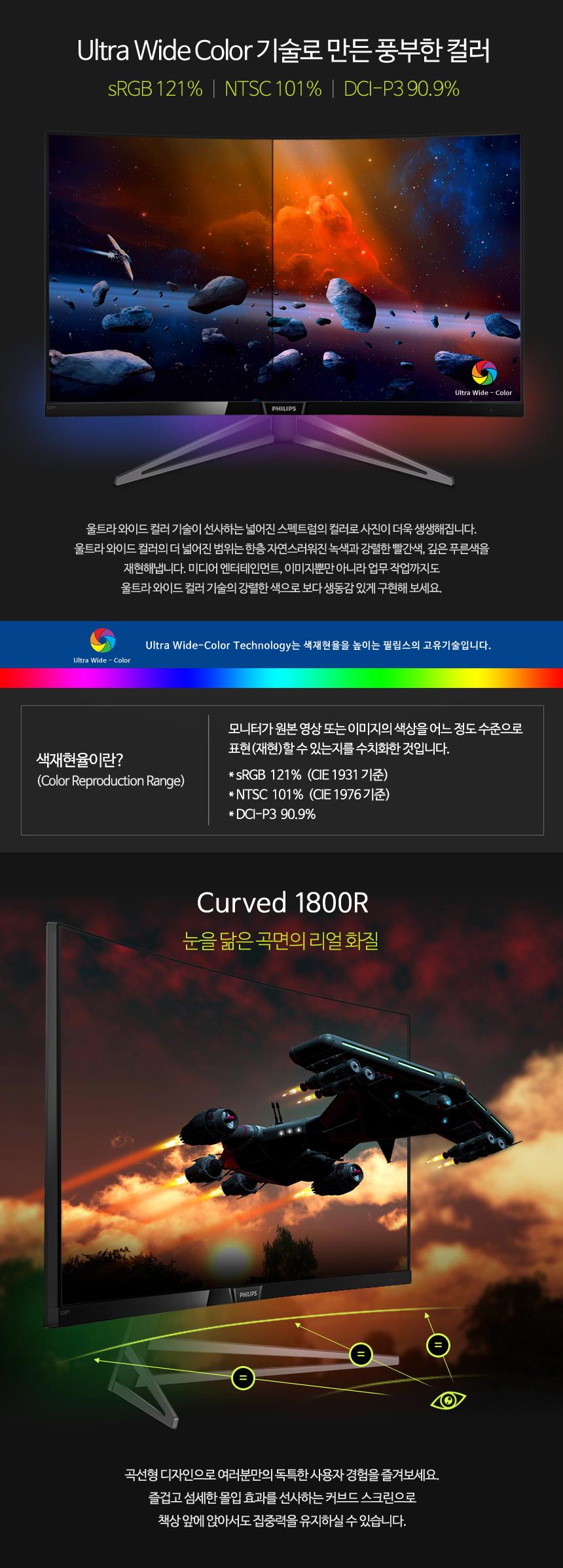 필립스  328M6 QHD 144 프리싱크2 HDR 무결점