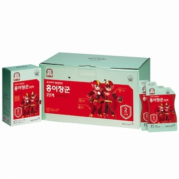KGC인삼공사 정관장 홍이장군 2단계 키즈 20ml 90포 (1개)
