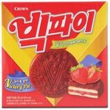 크라운제과 빅파이 딸기 18개입 324g  (1개)