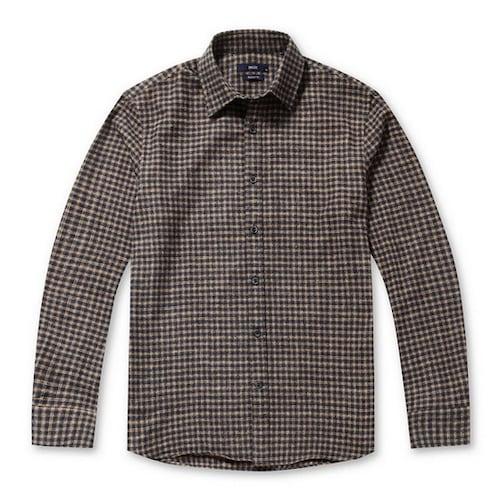코오롱인더스트리 스파소 깅엄 체크 캐주얼 셔츠 SPSAW17475YEX_이미지
