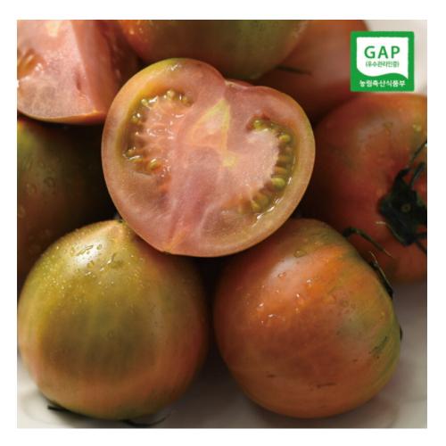 자연맛남 부산 대저토마토 M~2S 2.5kg(2개)