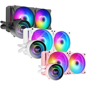 darkFlash Twister DX-240 ARGB (화이트)_이미지