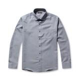 코오롱인더스트리 브렌우드 컴파운드 조직 드레스 셔츠 BRSDW17111GYX_이미지
