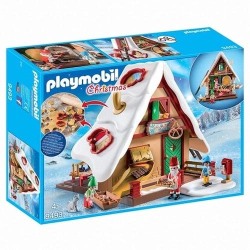 플레이모빌 산타와 크리스마스 제과점 (9493) (해외구매)_이미지