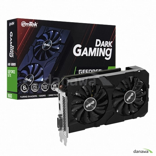 이엠텍  지포스 GTX 1660 DARK GAMING D5 6GB