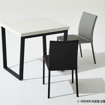 한샘  프레임 스틸 대리석 식탁 850 (의자별도)