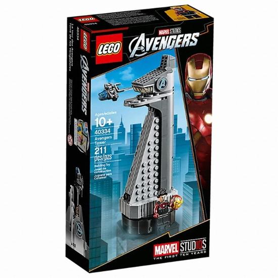 레고 마블 슈퍼히어로 어벤져스 타워 (40334) (정품)