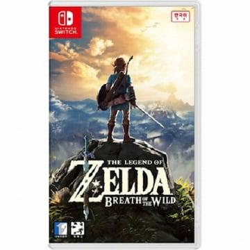 Nintendo  젤다의 전설 브레스 오브 더 와일드 (The Legend of ZELDA Breath of the Wild) SWITCH (한글판,일반판)