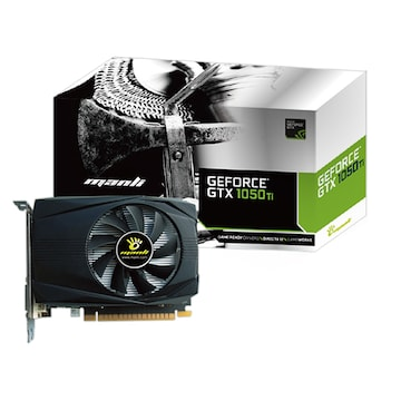 MANLI 지포스 GTX1050 Ti Black Frame Mini D5 4GB