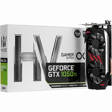 이엠텍 HV 지포스 GTX1050 Ti GAMER Edition OC D5 4GB