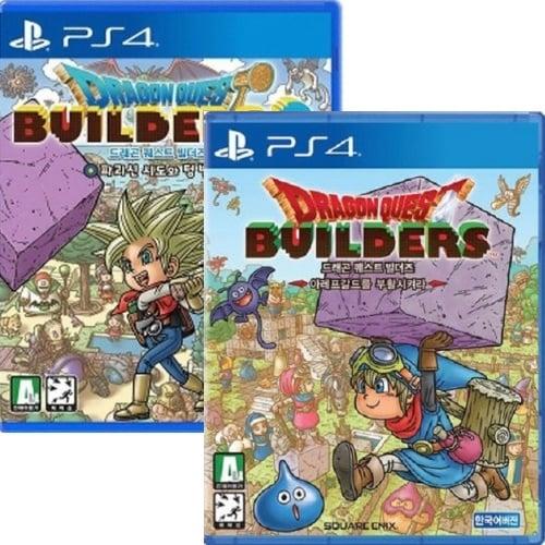 드래곤 퀘스트 빌더즈 1+2 더블팩 PS4 한글판_이미지