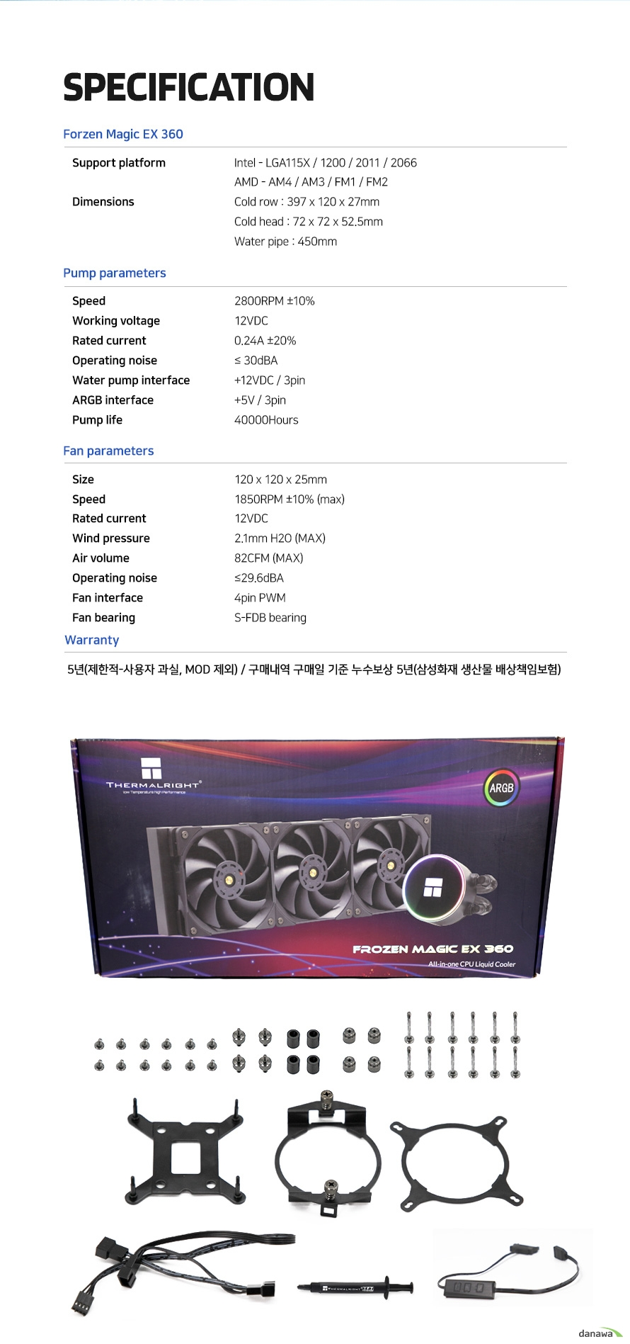 Thermalright FROZEN MAGIC EX360
