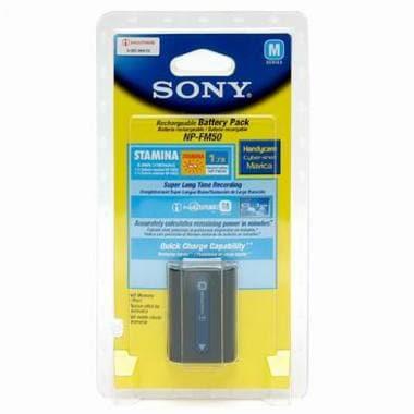 SONY NP-FM50 배터리 (해외구매)_이미지