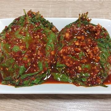 정우네콩잎 생깻잎무침 1kg (1개)_이미지