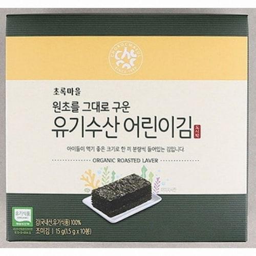 초록마을 유기수산 어린이김 15g (1개)_이미지