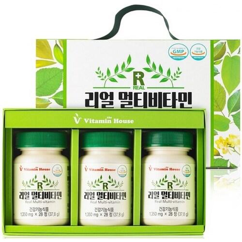비타민하우스 리얼 멀티비타민 선물세트 (1개)