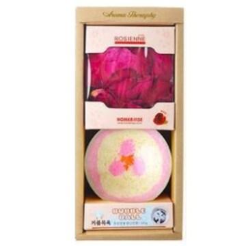 홈즈코리아 자스민 버블볼+장미 입욕 꽃잎 2종 세트_이미지