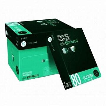 삼성물산  이지페이퍼 복사용지 A4 80g 500매 (5개, 2500매)
