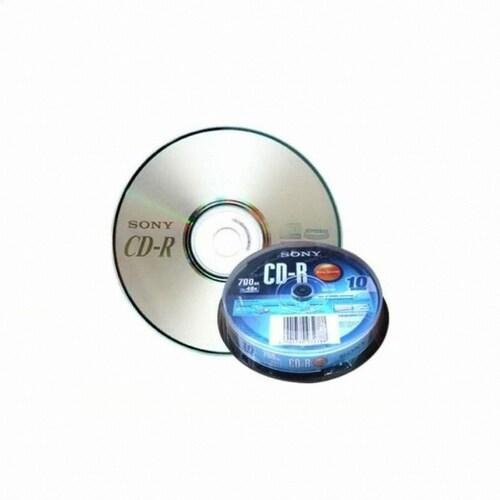 SONY CD-R 700MB 48x 벌크 케익 (10장)_이미지
