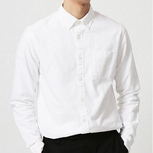 지오다노 남성 옥스포드 셔츠 049301_이미지