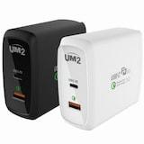 아임커머스 UM2 퀵차지3.0+USB-PD 60W 여행용 충전기 QC60PD  (정품)