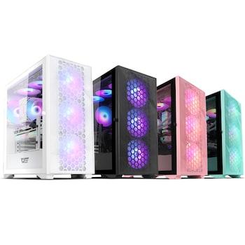 darkFlash DLX21 RGB MESH 강화유리 (블랙)