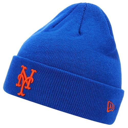 뉴에라캡코리아 뉴에라 커프 비니 MLB 뉴욕 매츠 11397010_이미지