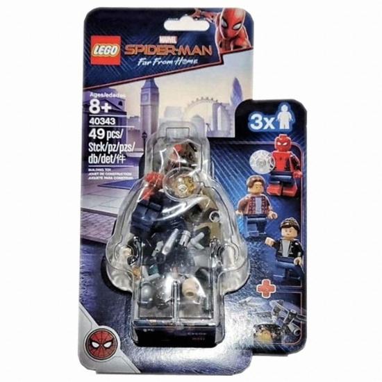 레고 마블 슈퍼히어로 스파이더맨 파프로홈 스파이더맨과 박물관 침입자 (40343) (정품)
