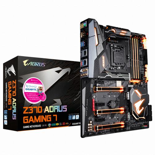 GIGABYTE Z370 AORUS Gaming 7 제이씨현
