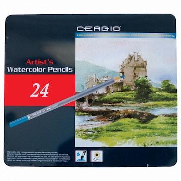 세르지오 수채 색연필(24색)
