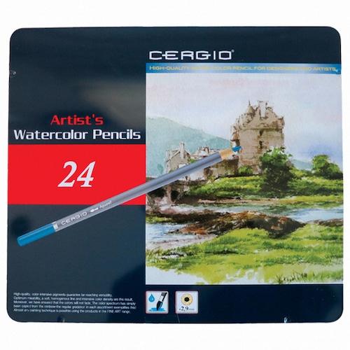 세르지오 수채 색연필 (24색)