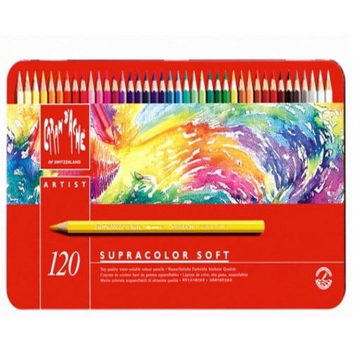 까렌다쉬 슈프라컬러 수채색연필 (120색)