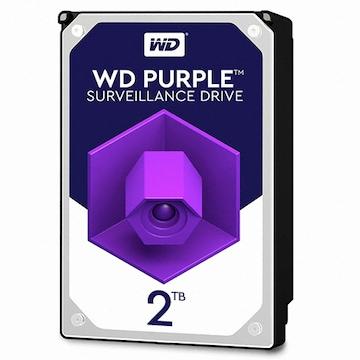 WD 2TB PURPLE WD20PURZ (SATA3/5400/64M)