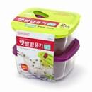 오븐글라스 햇쌀밥용기 410ml