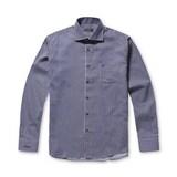 코오롱인더스트리 브렌우드 핀 S/T 코튼 드레스 셔츠 BRSDA17171NYX_이미지