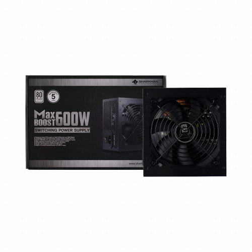 CHENGLIN SHARKHAN MAXBOOST 600W 80PLUS Standard 230V EU_이미지