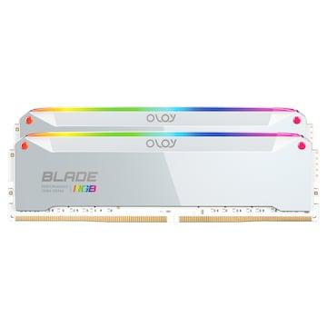 OLOy DDR4-3200 CL14 BLADE RGB AL 패키지
