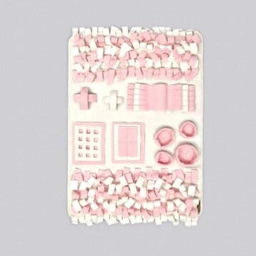 까르페티앙 노즈워크 담요 핑크 (95x70cm)_이미지