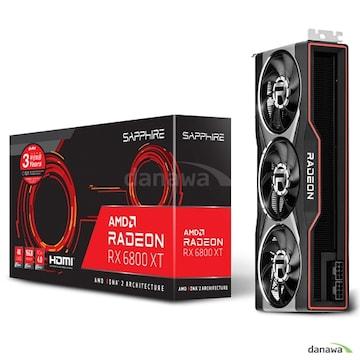 SAPPHIRE 라데온 RX 6800 XT D6 16GB_이미지