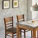 보네르홈 이벨린 대리석 식탁세트 (의자4개)_이미지
