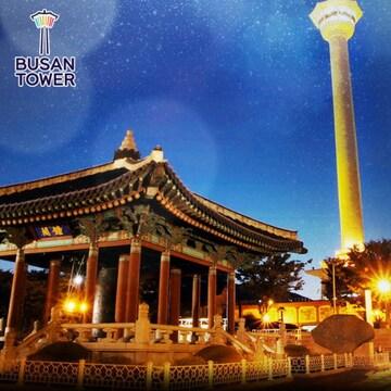부산타워 전망대 이용권 (부산)(소인)