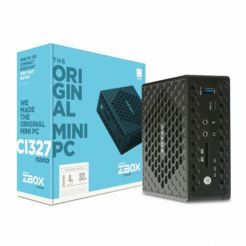 ZOTAC  ZBOX nano CI327 with Win10 (4GB, M2 32GB)_이미지