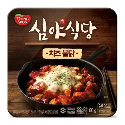 동원F&B 심야식당 치즈불닭 160g (3개)_이미지