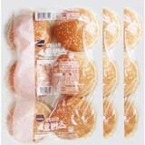 SPC삼립 4호 햄버거빵 6개입 300g  (3개)
