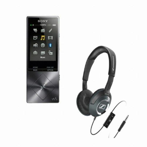 SONY Walkman NW-A27HN 64GB (젠하이저 HD218i 헤드폰, 정품)_이미지