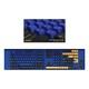 COX CX157 PBT 이색사출 키캡 트레이 세트 (Blue Tang)_이미지