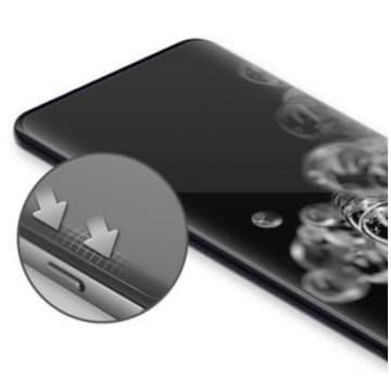 아이폰11 프로 맥스 풀커버 자가복원 우레탄 액정보호필름 (액정 2매)_이미지
