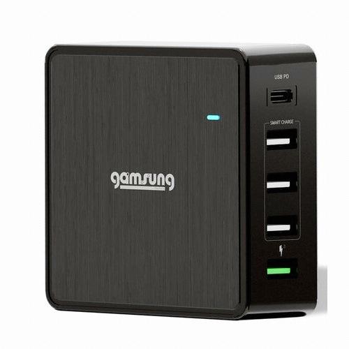 감성공장 USB-PD/QC3.0 60W 5포트 충전기 GF-010PT_이미지